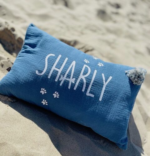 coussin personnalise animaux
